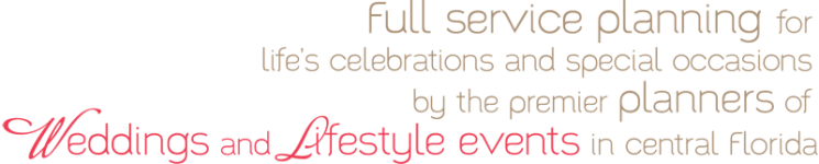 planners of weddings and lifestyle events
